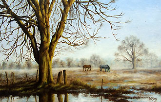 winter morning 14 x 22 code b